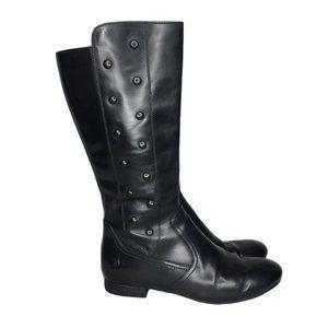 Born Martika Leather Handcrafted Black Tall